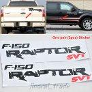 Pair (2 pcs) FORD F-150 RAPTOR SVT Logo Car Auto Pickup Truck Sticker Decal Sticker