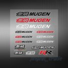 Set (14 pcs) Color MUGEN Logo Car Sticker Decal Emblem For Honda Acura All Model
