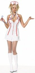 3 piece Head Nurse costume
