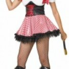 3 Piece Pirate Wench Costume