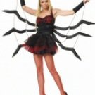 2 Piece Black Widow Spider Costume