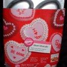 Wilton Six Mini Valentine's Heart Cake Dessert Pan 1989 Vintage