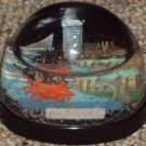 Baltimore Snow Dome or Snow Globe Vintage Souvenir Crab Ship Building #354R Made in Hong Kong