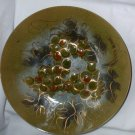 Sascha Brastoff Mid-Century Enamel Copper Grape Vintage Fruit Bowl
