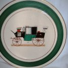 Salem China Co Antique Automobile Charger Collectors Plate Imperial Pattern Vintage 1960's USA