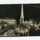 Night Scene, Carnival Park, Kansas City, Kansas Postcard 1910