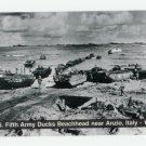 U.S. Fifth Army Ducks Beachhead near Anzio Italy 1944