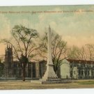 Trinity Episcopal Church, Gonzales Monument, Satterlee Hall, Columbia S.C. Postcard