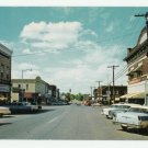 Walnut Street Rogers Arkansas Postcard 1950s