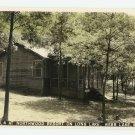 Cabin Northwood Resort Long Lake Webb Lake WI Postcard