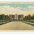 St. John's Academy Little Rock Arkansas Postcard 1933