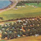 Stanhope Bay Road Camping P.E.I. Postcard 1972