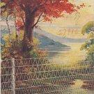 Ellwood Fence Advertising Postcard