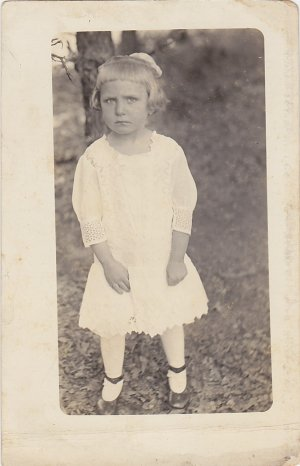 Cranky Vera--Photo Postcard