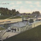 Kentucky Locks Louisville Kentucky Postcard