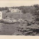 Palmer & Boynton Cottages Brackett Monhegan Postcard