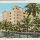 Hotel Royal Daneli Palm Beach Florida Early 1900s