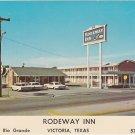 Rodeway Inn Victoria Texas 1960s Postcard