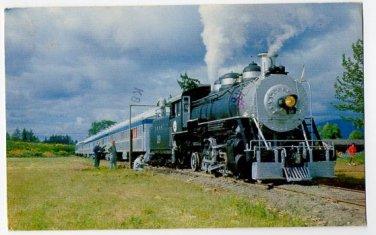 Steam Locomotive Culp Creek/Cottage Grove 1979