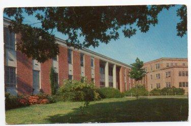 Carrier Hall University of Mississippi 1961 Postcard