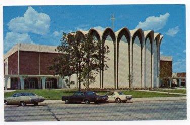 Bethany Oklahoma First Church of the Nazarene 1960s or 70s Postcard