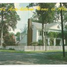 Home of Mrs. J.G. Hill Mooresville Alabama Postcard