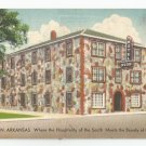 Hotel Rush Harrison Arkansas Postcard 1940s? 50s?
