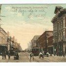 Bay Street Looking East Jacksonville Florida Postcard 1889?