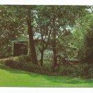 Portland Mills Bridge Parke County Indiana Postcard
