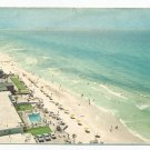 Aerial View Long Beach Florida 1950s? 1960s? Postcard