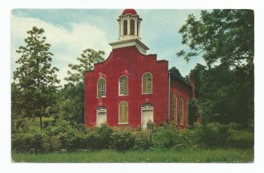Old Presbyterian Church Rodney Mississippi Postcard