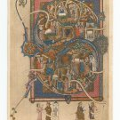 Tickhill Psalter Spencer Collection New York Public Library Postcard