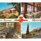 Hotel Restaurant Monteripoli Tivoli Italy Postcard