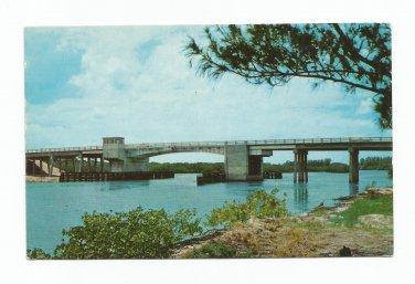 Indian Rocks Memorial Bridge Indian Rocks Beach Florida Postcard