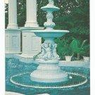 Six Flags Over Georgia Fountain Postcard