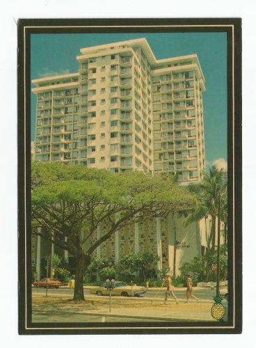 Queen Kapiolani Hotel Postcard 1984 Hawaii