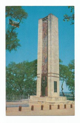 Mier Black Bean Expedition Monument La Grange Texas Postcard