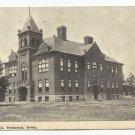B&W Photo Postcard High School Belmond Iowa 1919(?)