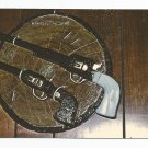 Colt .45s in Limestone Continental Sculpture Hall Abilene Kansas Postcard