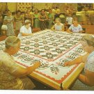 Quilters at Hershey Pennsylvania 60s? 70s? Postcard