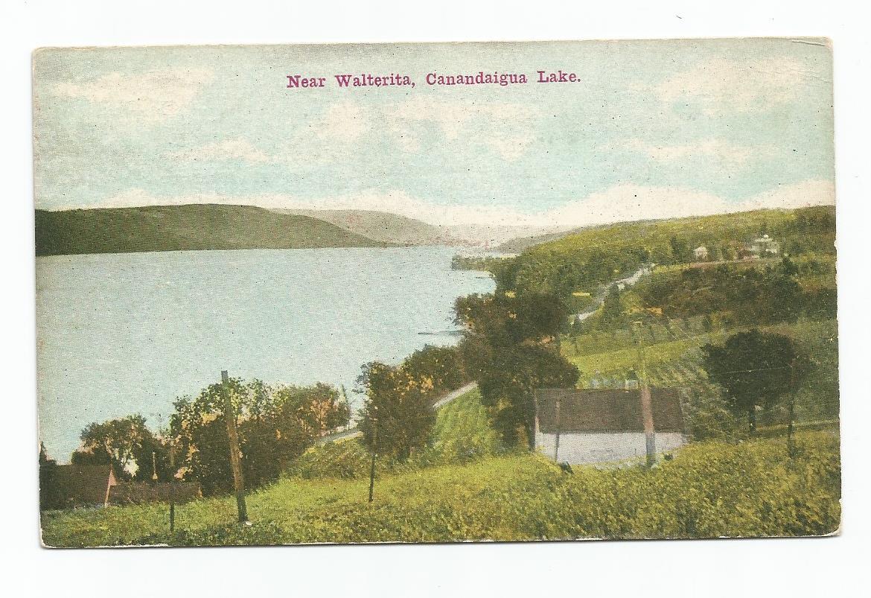 Near Walterita Canandaigua Lake New York Postcard