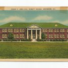 Robert E. Jones Hall Bennett College Greensboro North Carolina Postcard
