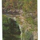 Lusk Creek Canyon Pope County Illinois Postcard 50s? 60s?