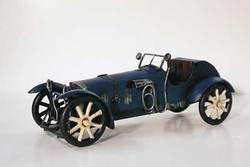 SimpleYears Blue race car w/white spoke wheels  JL111-2