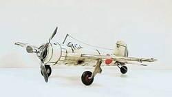 SimpleYears Japanese fighter plane WW II white  JL201