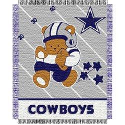 Dallas Cowboys Triple Woven Jacquard NFL Throw   Nor1Dal-044Baby