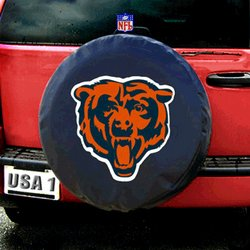 Chicago Bears NFL Spare Tire Cover by Fremont Die (Black)  Fmt1TC-Chi-98401