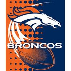 Denver Broncos Royal Plush Raschel NFL Blanket    Nor1Den-800Flash