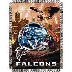 Atlanta Falcons Woven Tapestry NFL Throw   Nor1Atl-051HFA