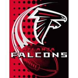 Atlanta Falcons Royal Plush Raschel NFL Blanket   Nor1Atl-800Flash